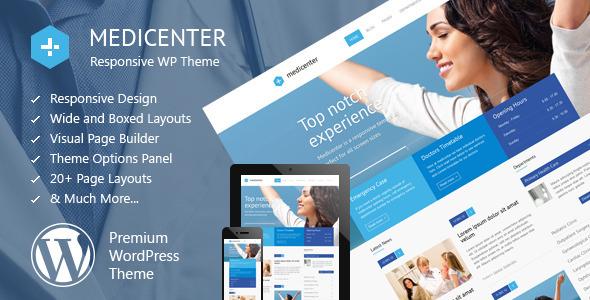 3 MediCenter 企业卫生医疗健康 WordPress中/英文主题 wordpress中文主题