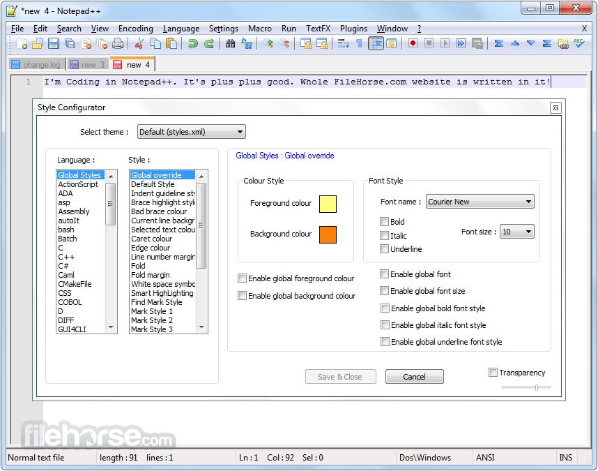 230 Notepad++ v6.6.8发布  Notepad++ v6.6.8下载