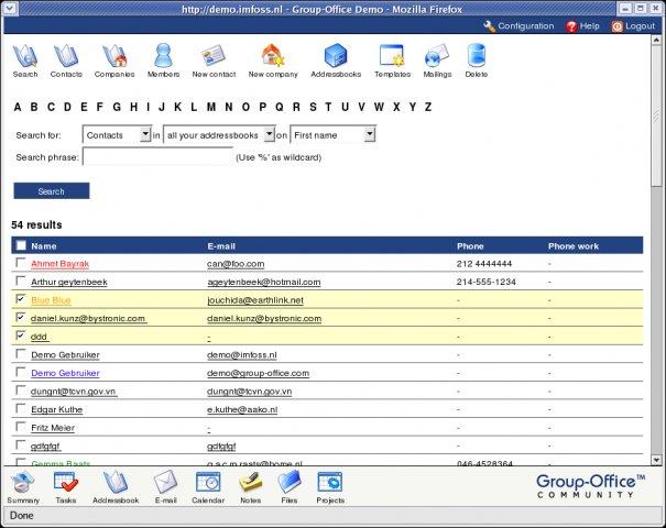 881 Groupoffice 6.0.7 发布 企业办公软件下载
