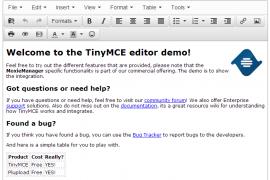 TinyMCE 4.1.3 发布  TinyMCE 4.1.3 下载