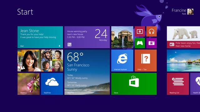 11 Windows 8.1 Update 2 将会在 8 月 12 日发布