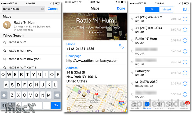 112 iOS 8 Beta 5 新功能: 从 Maps 地图中获取商家信息  iOS 8 Beta 5下载