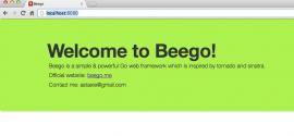 beego 1.4.0 版本发布下载  Go 应用框架 1