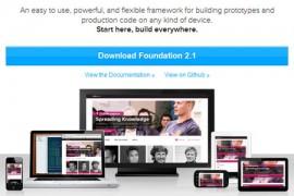 Foundation 5.4 发布下载  响应式 Web UI 框架