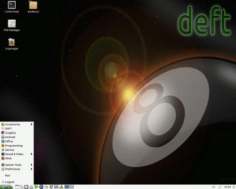 28 DEFT Linux 8.2 发布  DEFT Linux 8.2 下载
