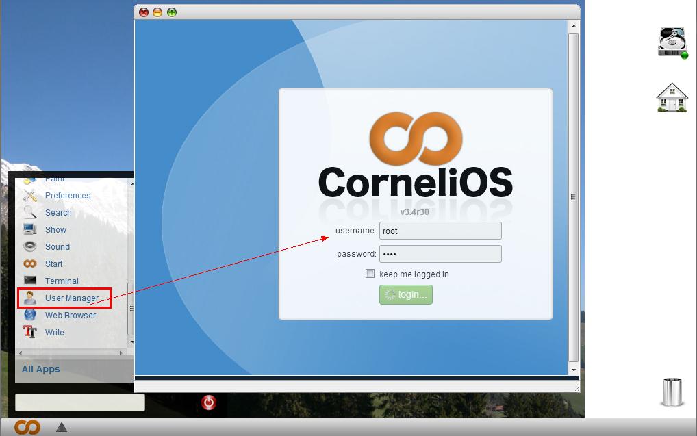 124 CorneliOS 4.9r22 发布下载 网络操作系统