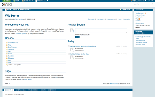 130 XWiki Enterprise 6.2.3 发布 XWiki Enterprise 6.2.3 下载