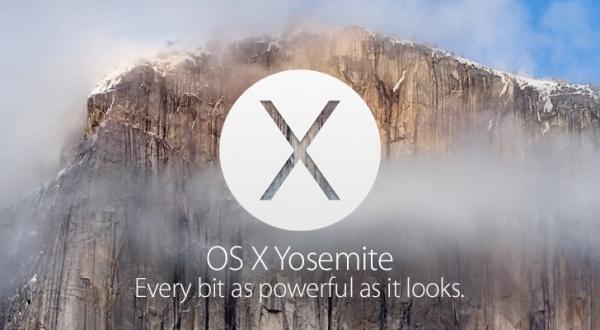 14 OS X Yosemite 发布:今日可更新