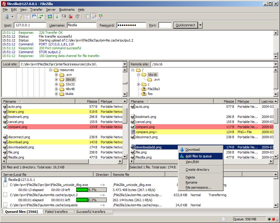 23 FileZilla Client 3.9.0.6 发布  FileZilla Client 3.9.0.6下载