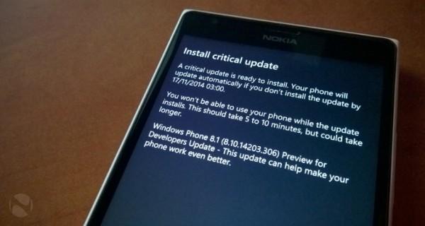 14101841 1zdU Windows Phone 8.1.1 Build 14203,重要更新