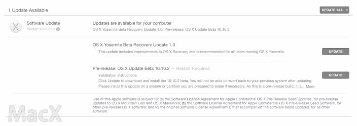 124 OS X Yosemite 10.10.2 新公测版(14C81h)