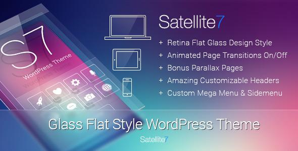 129 Satellite7 v1.4 汉化企业类型模板 更新发布