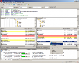 FileZilla Client 3.10.0-rc1 发布  FileZilla Client 3.10.0-rc1下载