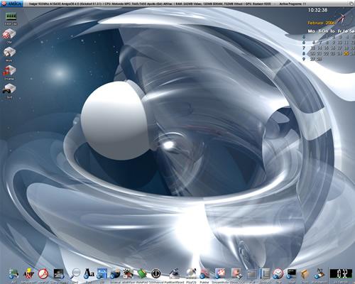 28 操作系统 AmigaOS 4.1 Final Edition 发布