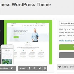JoeBy 大气干净简洁的企业商务网站模板 3