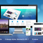 Wordpress The7.2 v1.1.0 中/英响应式企业主题下载