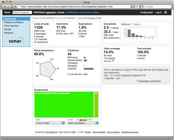 38 SonarQube 5.0 发布 代码质量管理平台