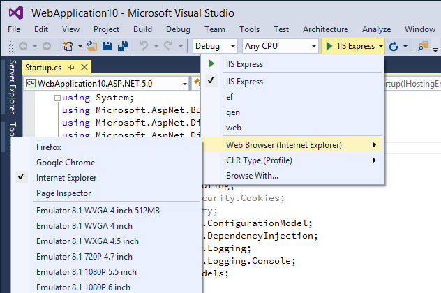 63 Visual Studio 2015 CTP 5 发布