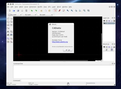 65 LibreCAD 2.0.7 发布 开源 CAD 制图软件