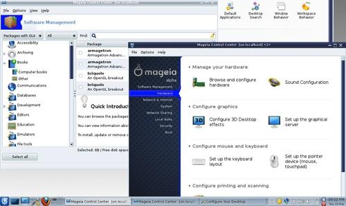 74 Mageia 5 Beta 2 发布 Linux 发行版