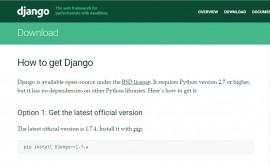 Django 1.7.4/1.4.19 发布 BUG 修复版本