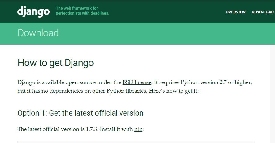 Django Django 1.8a1发布 Python Web 框架
