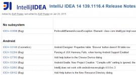 IntelliJ IDEA 14.0.3 RC 更新至 build 139.1116