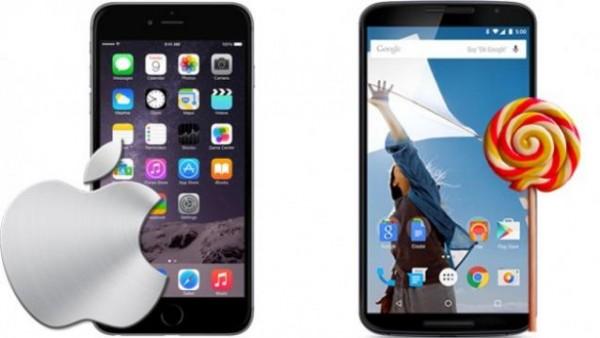81 Android Lollipop 系统稳定性优于苹果 iOS 8