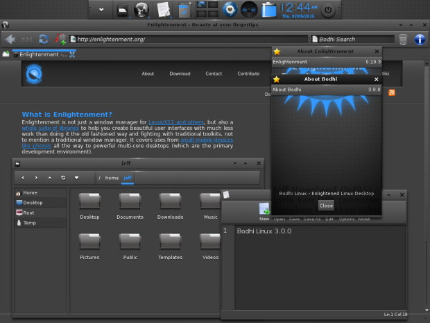 Bodhi Linux Bodhi Linux 3.0.0 RC3