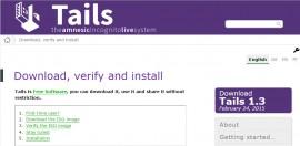 Tails 1.3 发布下载 安全更新-尽快升级!