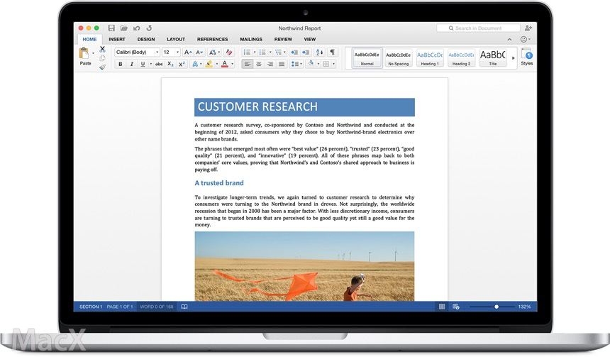06065910 CcV7 微软发布 Office for Mac 2016 测试版 可免费试用