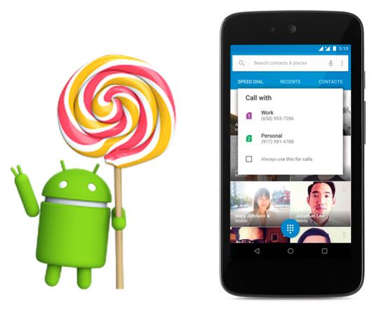 10071131 zX5A 谷歌发布 Android 5.1 加入设备保护功能