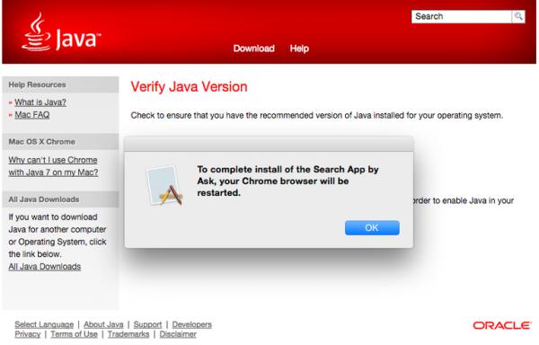 12 甲骨文首次将 Java 捆绑广告置入 Mac