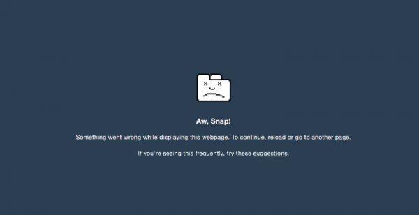 14 OS X 版 Chrome 浏览器遇到特定字符串即崩溃
