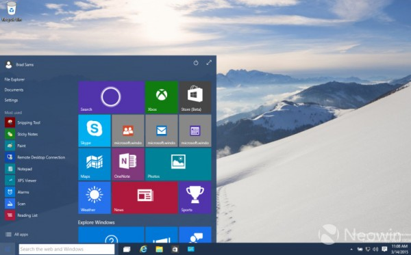 23 Windows 10 Build 10036 提供下载 诸多新功能