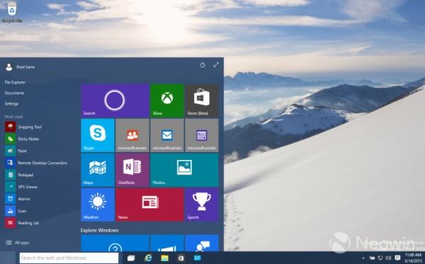 23 Windows 10 Build 10036 提供下载 诸多新功能