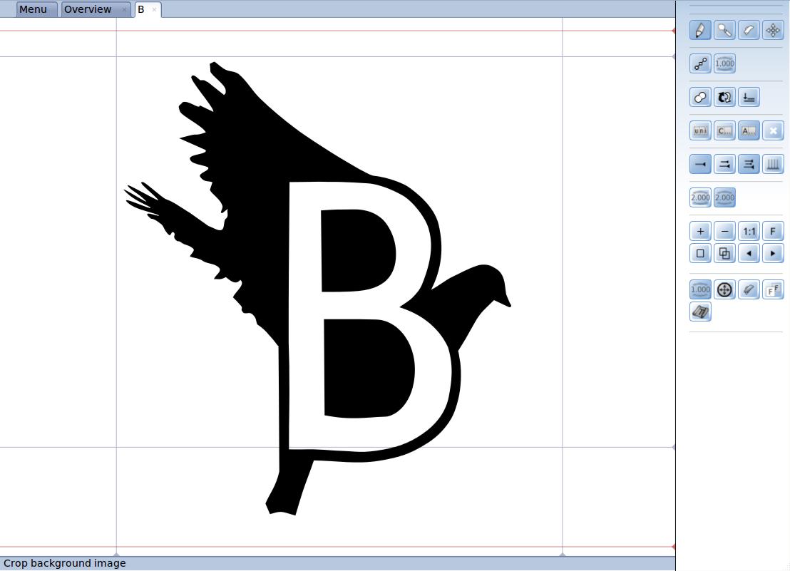 Birdfont Birdfont 2.1 发布 字体编辑器