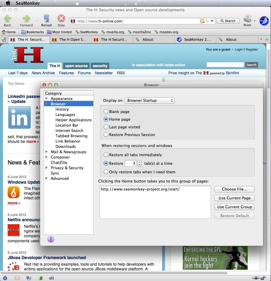 %name SeaMonkey 2.33.1 发布 Mozilla浏览器套件