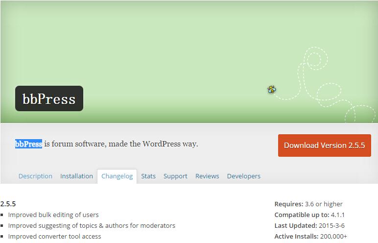 bb wordpress the7 添加论坛支持 bbPress插件使用