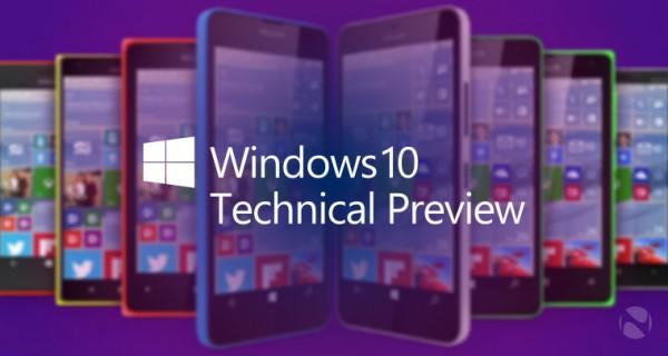 116 全新 Windows 10 for Phone 技术预览版发布