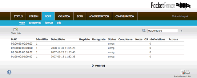 118 PacketFence 5.0 发布 网络接入控制