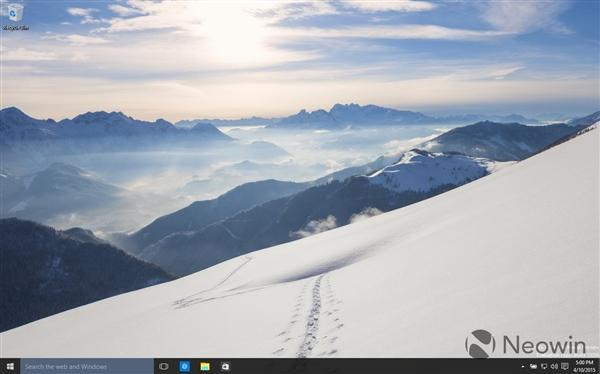 119 Windows 10 最新版暴多截图 Windows 10 Build 10056下载