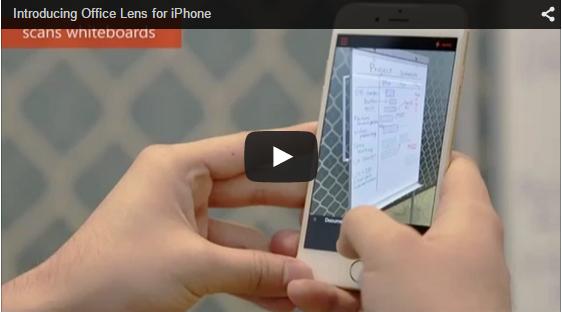 14 Office Lens 发布iPhone和Android版本