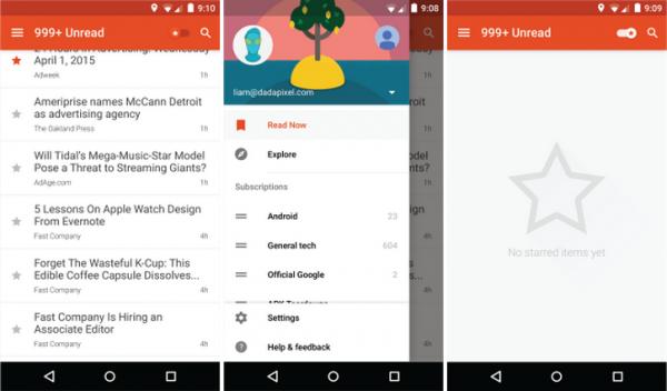 2 Google Reader 手机应用 2.0 版重生