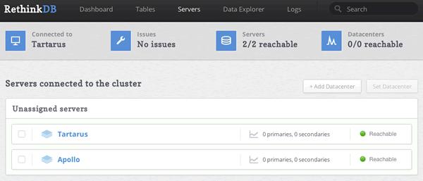 233 RethinkDB 2.0.1 发布 分布式数据库