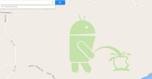 """26082134 5Z9h 谷歌官方就地图""""侮辱""""苹果删除内容并道歉"""