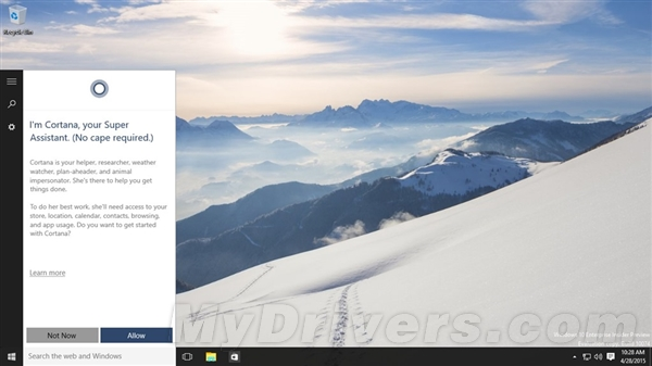 30143410 sWQb 微软推送 Windows 10 Build 10074 更新