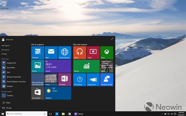 36 Windows 10 最新版暴多截图 Windows 10 Build 10056下载