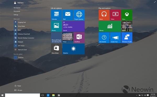 45 Windows 10 最新版暴多截图 Windows 10 Build 10056下载