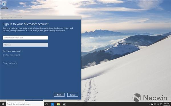 6 Windows 10 最新版暴多截图 Windows 10 Build 10056下载